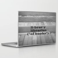 library Laptop & iPad Skins featuring Library by KimberosePhotography
