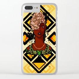 The Kuba Diamond Clear iPhone Case