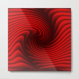 Abstract red 229 Metal Print