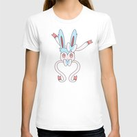 sylveon T-shirts featuring Shiny Sylveon Heart by Sarah Anne Cimaglio