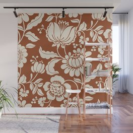 Exotic flowers Wall Mural