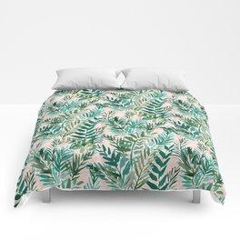 LUSH BLUSH Sunset Palms Comforters