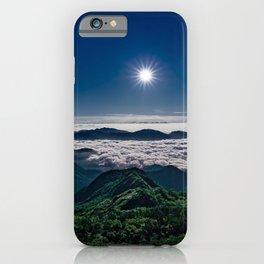 Moonlight Sonata Mountainous Clouds Photographic iPhone Case