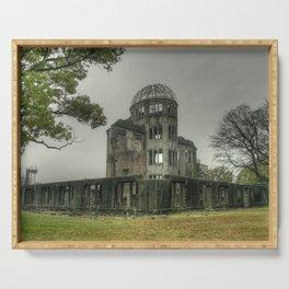 Hiroshima Atomic Dome Serving Tray