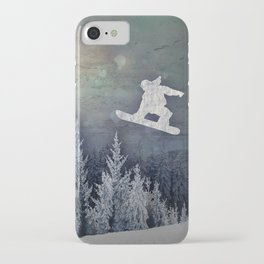 The Snowboarder iPhone Case
