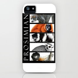 Lemurs of Madagascar iPhone Case