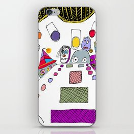 stage fright iPhone Skin