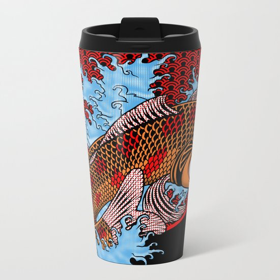 Blinky Metal Travel Mug