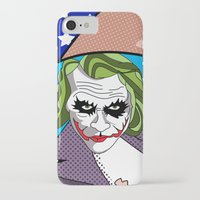 super heroes iPhone & iPod Cases featuring super heroes by mark ashkenazi