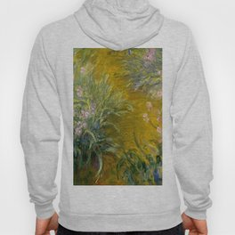 "Claude Monet ""The Path through the Irises"", 1914-1917 Hoody"