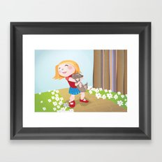 I choose you Framed Art Print