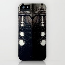 Darker Still - Fountain in Midnight and Black iPhone Case