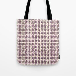 Floral Abstract Pattern Tote Bag