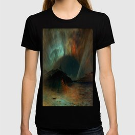 Aurora Borealis by Frederic Edwin Church T-shirt