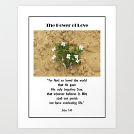 Power of Love Art Print