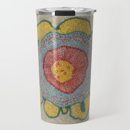 Growing - Pinus 1 - plant cell embroidery Travel Mug