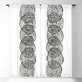 Circular Column Blackout Curtain