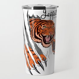 Geppetto Tiger Rip Travel Mug