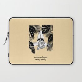 EXHALE INHALE Laptop Sleeve