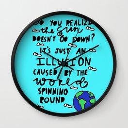 do you realize? Wall Clock