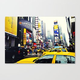 TAXI SQUARED. Canvas Print