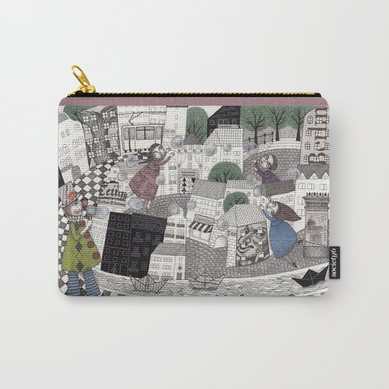 Catch Them if you Can Carry-All Pouch