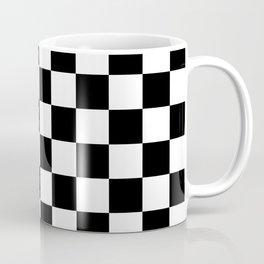 Checkered (Black & White Pattern) Coffee Mug