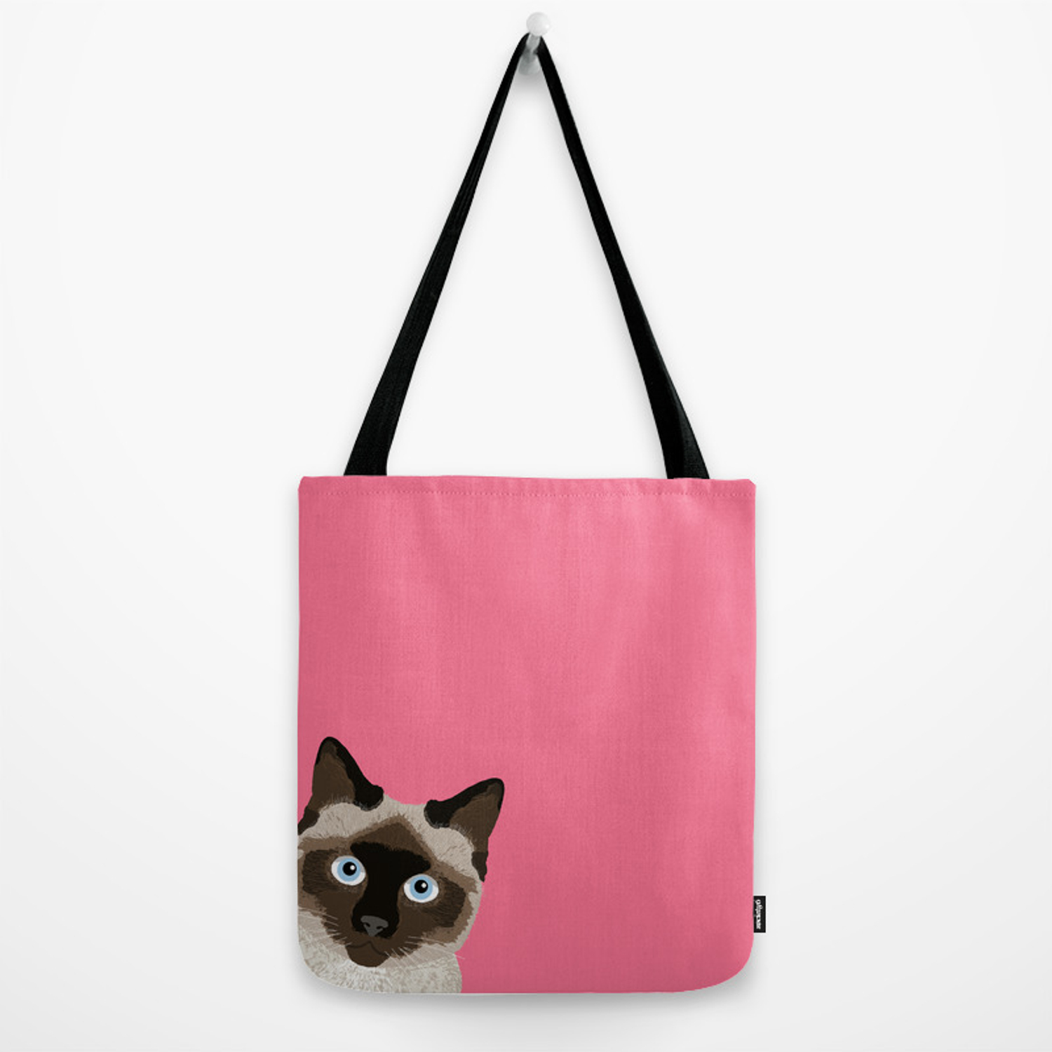 6b0c149b8d Peeking Siamese Cat - Funny cat meme for cat lovers, cat ladies gifts for  cat people Tote Bag by petfriendly | Society6