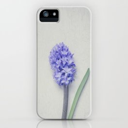 Lovely Bright Lilac Hyacinth iPhone Case