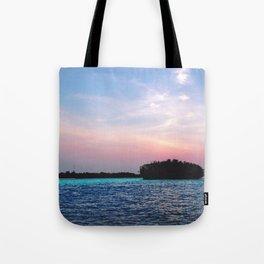 Island in a not-Sun Tote Bag