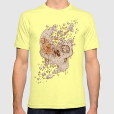 Disintegrate (A Violent Decay):  The Fragile Intensity of Existence Mens Fitted Tee Lemon MEDIUM