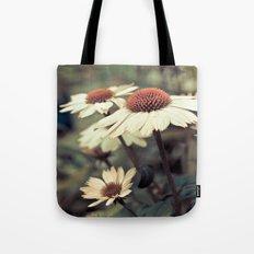 Soft white cone flower Tote Bag