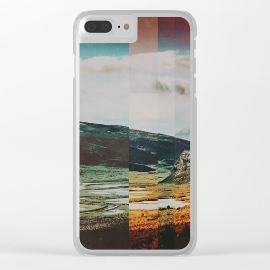 Fractions A97 Clear iPhone Case