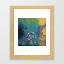Notorious Nectarines Framed Art Print