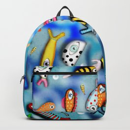 Fishes Ocean current Backpack