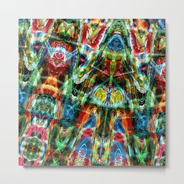 Colorful Abstract Metal Print