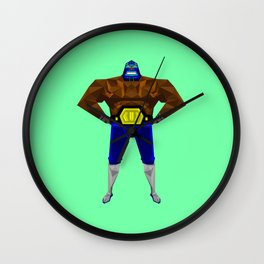 Low-poly Guacamelee! Wall Clock