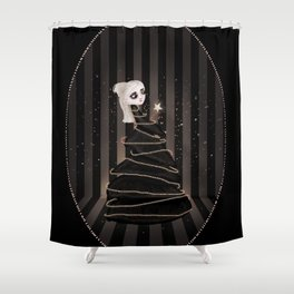 Broken Figments of Imagination Shower Curtain