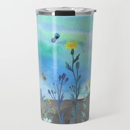 Blue Garden I Travel Mug