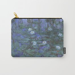 Claude Monet - Blue Water Lilies Carry-All Pouch