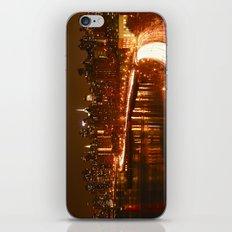 New York City Night Skyline. iPhone & iPod Skin