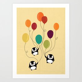 Pinguins Art Print