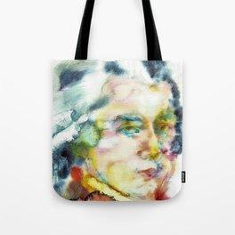 WOLFGANG AMADEUS MOZART - watercolor portrait Tote Bag