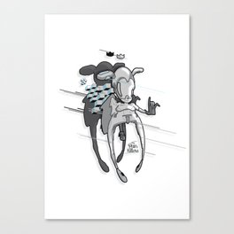 Urban Character Canvas Print