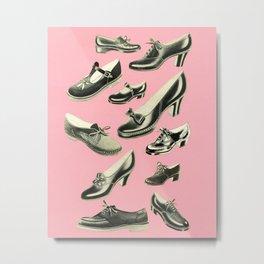 Shoe Fetish Metal Print