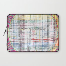 The System - pink motif Laptop Sleeve