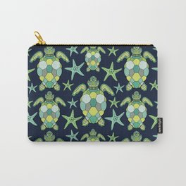 Water sea turtle #2 Carry-All Pouch