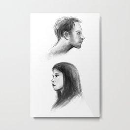 elementary: better half Metal Print