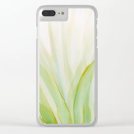 Grassy Clear iPhone Case