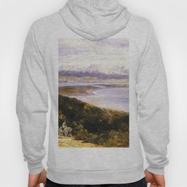 San Diego Bay From Point Loma 1907 By Thomas Hill | Reproduction Hoody